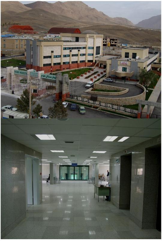 طراح سازه ( مقاوم سازی و توسعه) بیمارستان مهر ملایر ، مهندس غلامحسینی - طراح نرم افزار